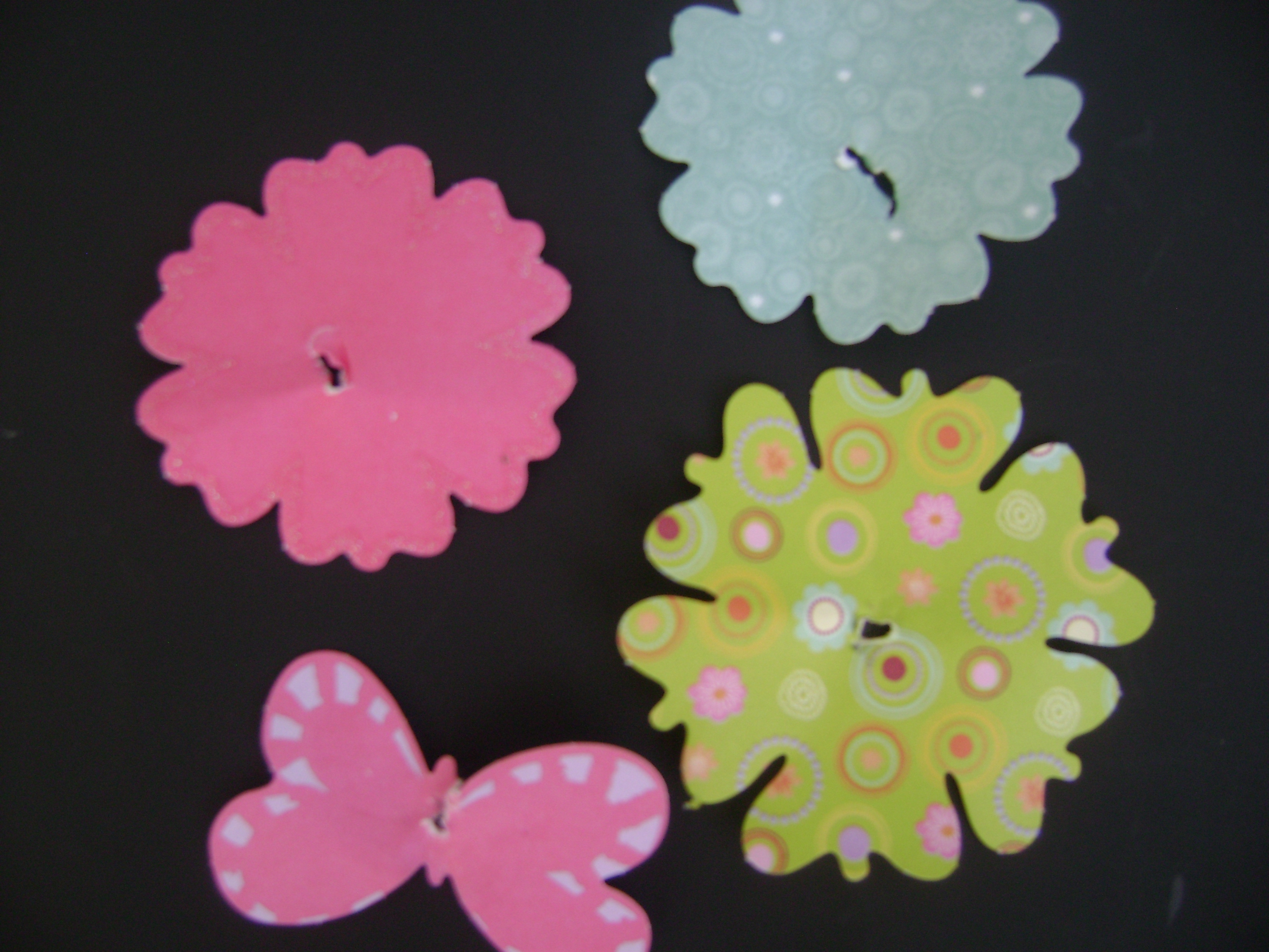 Involving Kids Paper Flower Bouquets Lisa Van Engen