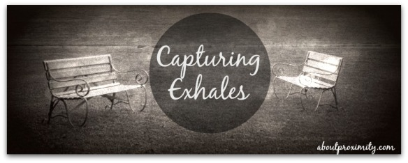capturing exhales