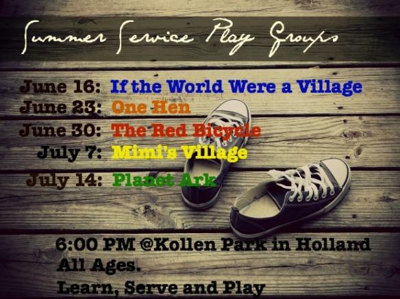 playgroup dates