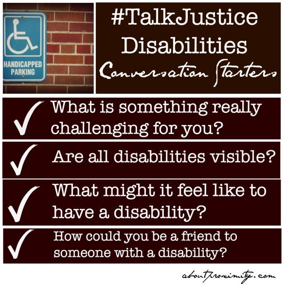 disability conversation starters