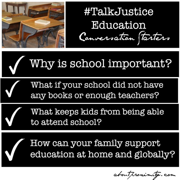 #TalkJustice Education Conversation