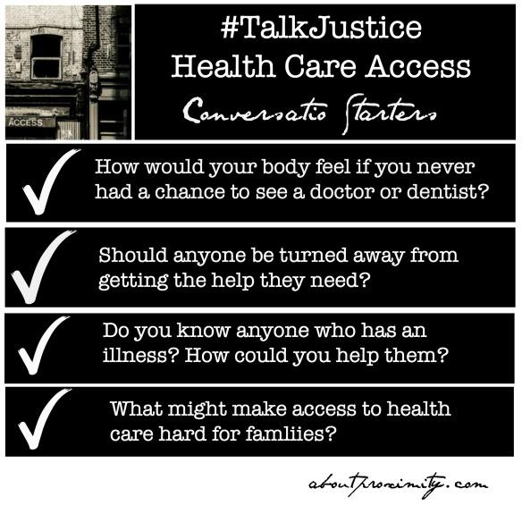 health care conversation starters